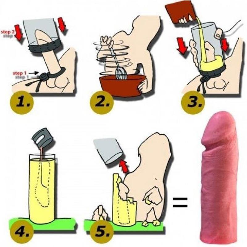 acasă cum să faci un penis