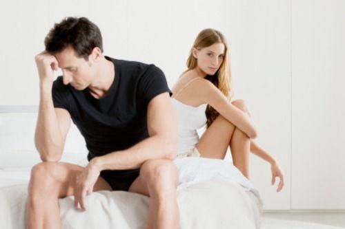 nicio erecție pe alte femei decât soția