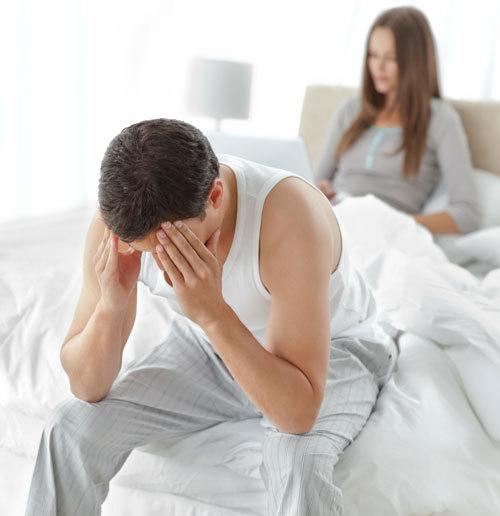 erecție slabă din cauza constipației